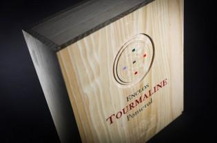 Enclos Tourmaline vignobles k : coffret 3 bouteilles