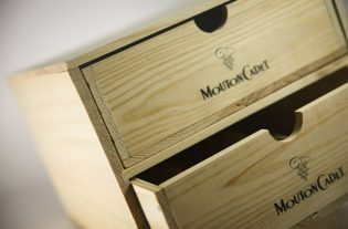 Caisse Mouton Cadet coffret seconde vie